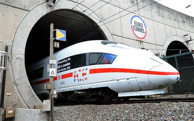Channel Tunnel Longest Railway in the World