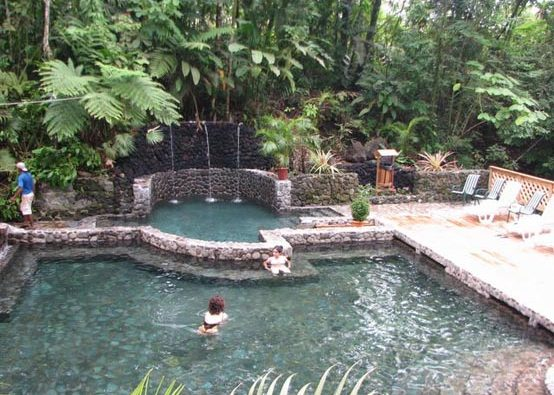 Eco Termales Natural Hot Springs in Costa Rica