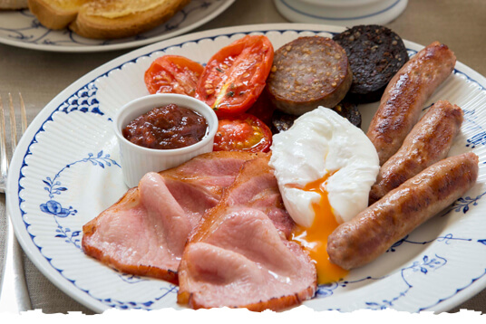 Full Irish Popular Breakfast Food