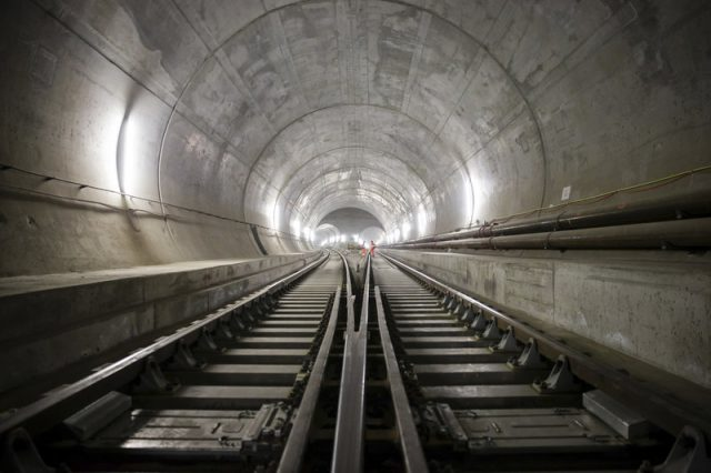 Gotthard Base Tunnel Longest in the World