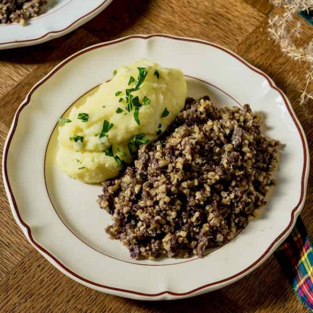 Haggis Irish Food