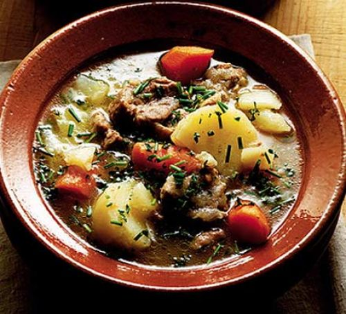 Irish Stew Traditional Food