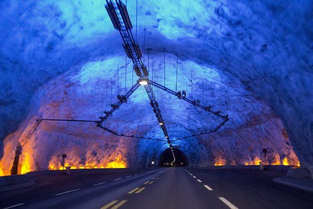 Lærdal Tunnel Longest in the World