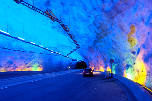 Lærdal Tunnel Longest in the World Norway