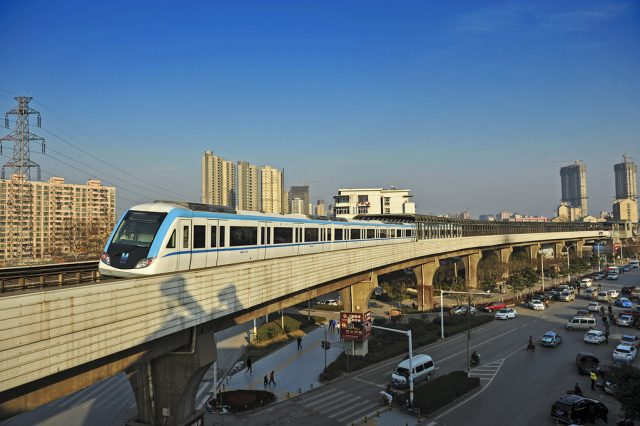 Line 1, Wuhan Metro Bridge Longest in the World