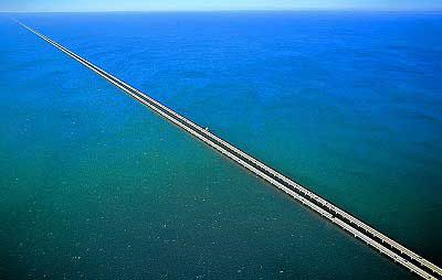 Pontchartrain Causeway Longest Bridge in the World