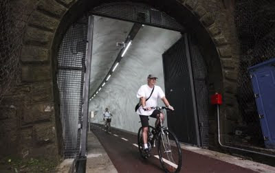 San Sebastian Bicycle Tunnel Longest in the World