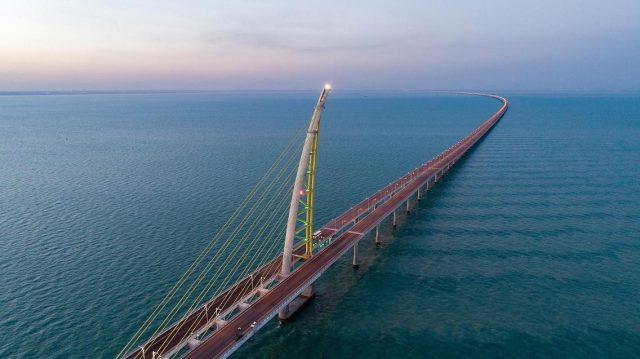 Sheikh Jaber al-ahmad al-sabah Causeway Longest Bridge in the World