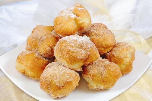 Sonhos Portuguese Dessert