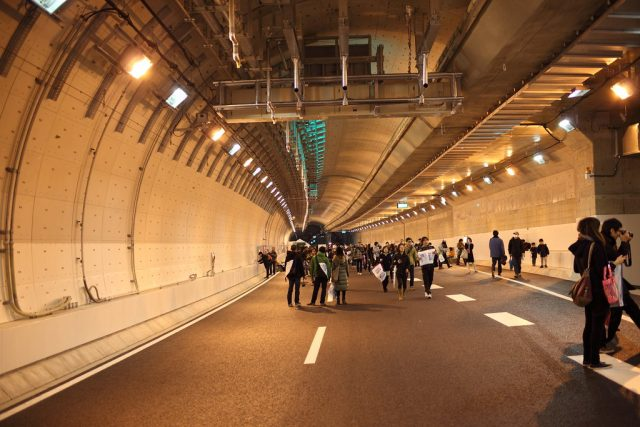 Yamate Tunnel the Longest Drivable Road Tunnel in the World