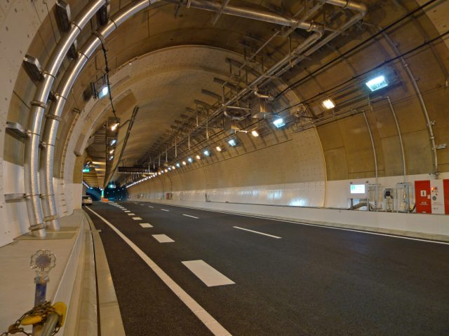 Yamate Tunnel the Longest Tunnel in the World