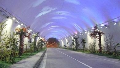 Zhongnanshan Tunnel Road Longest in the World