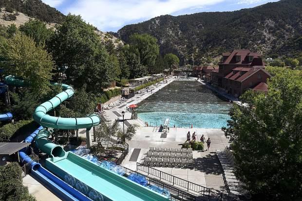 Glenwood Hot Springs Pool Closest to Denver