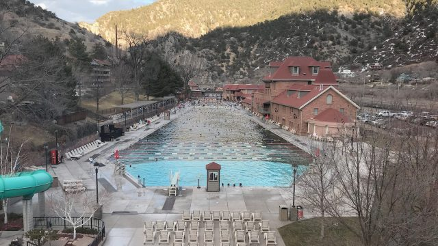 Glenwood Hot Springs Pool Denver