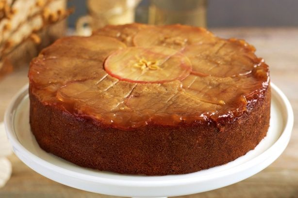 Honey Cinnamon Apple Cake Sweet Middle Eastern Dessert