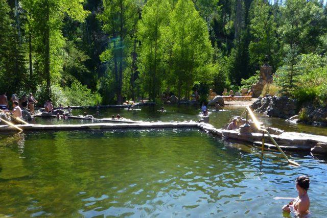 Hot Springs near Denver