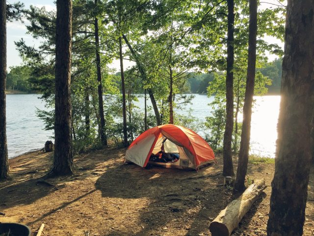 Keowee-Toxaway State Park Campground in South Carolina