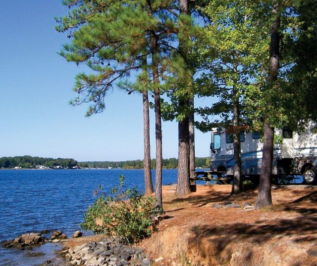 Lake Greenwood State Park Camping in South Carolina