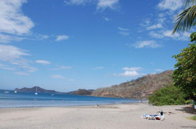 Playa Hermosa the Black Sand Beach of Costa Rica