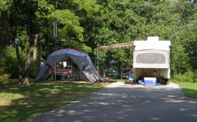 Table Rock State Park Campground in South Carolina