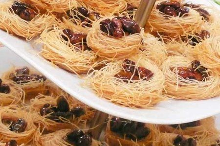 Ush-el-bul-bul Birds Nest Dessert Middle Eastern