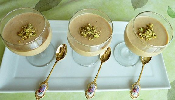 Zabadee el Mishmish Middle Eastern Dessert