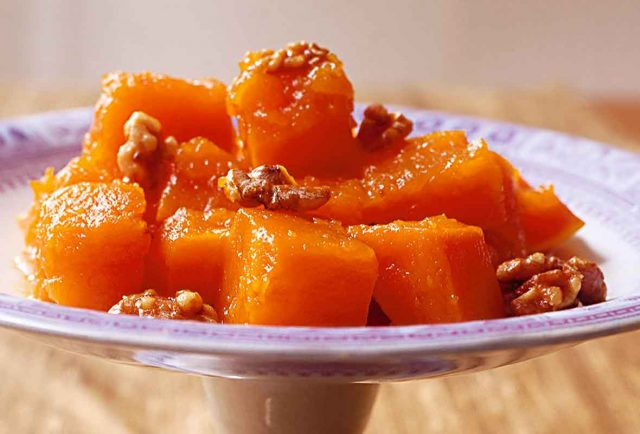 kabak Tatlısı Middle Eastern Dessert