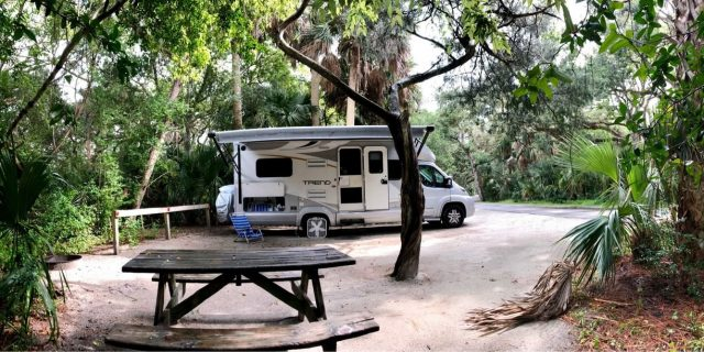 Anastasia State Park Campground in Florida