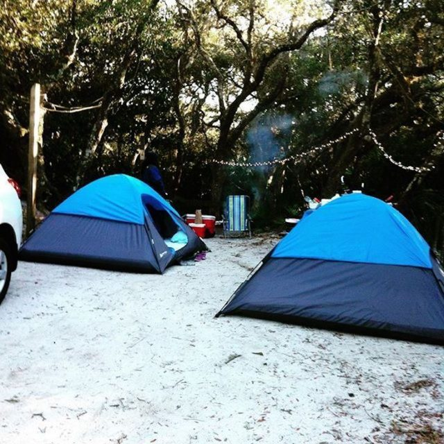 Anastasia State Park Camping in Florida