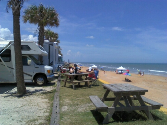 Beverly Beach Camptown RV Resort Campground in Florida