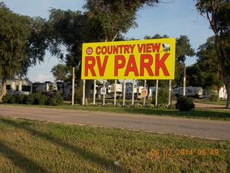 Country View Best Campground in Nebraska