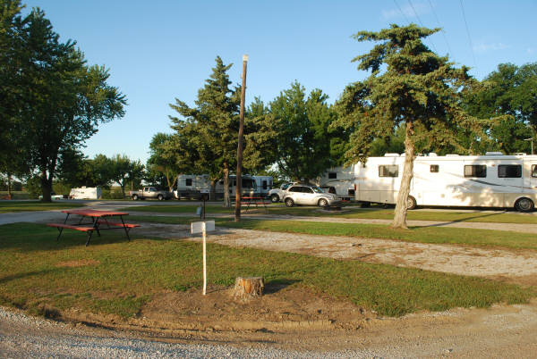 Double Nickel Campground in Nebraska