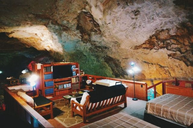 Famous Grand Canyon Cavern in Arizona
