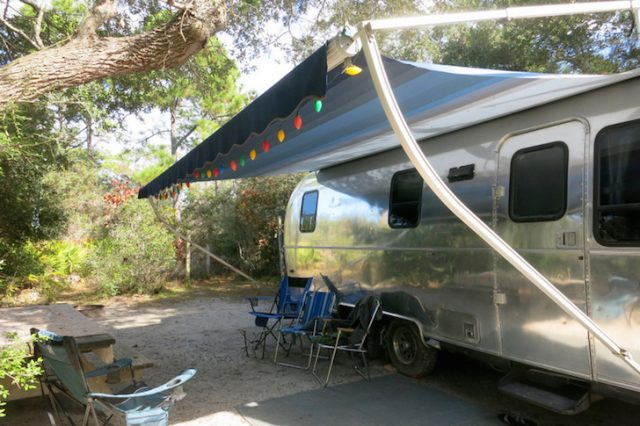 Grayton Beach State Park Campground in North Florida
