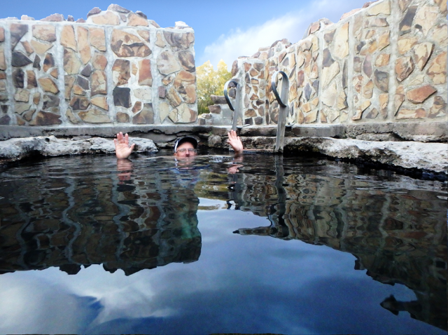 Hart Mountain Hot Springs in Lakeview Area