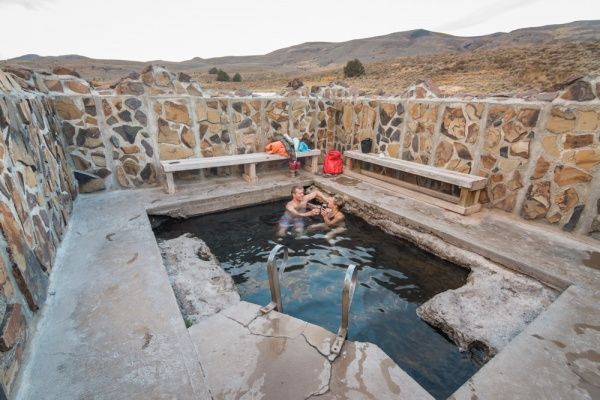 Hart Mountain Hot Springs in Oregon