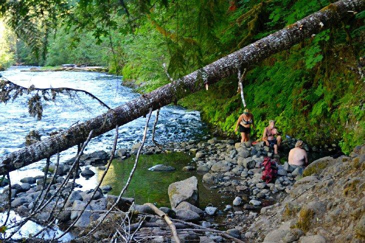 Hot Springs in Oregon