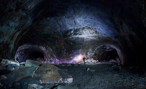 Lava River Cave in Arizona