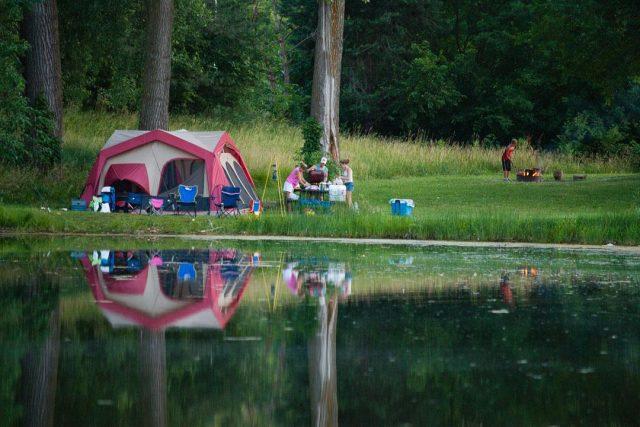Louisville State Recreation Area Camping in Nebraska