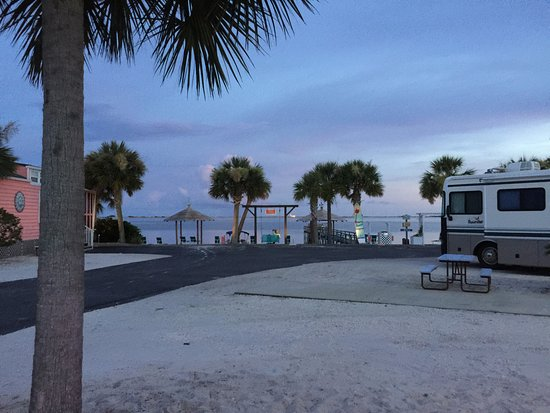 Navarre Beach Camping Resort in Florida