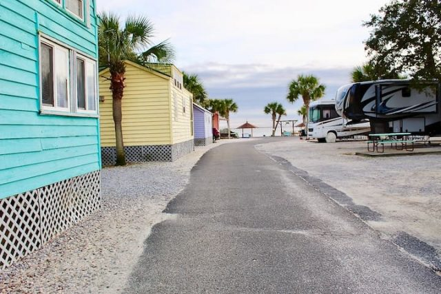 Navarre Beach RV Camping Resort in Florida