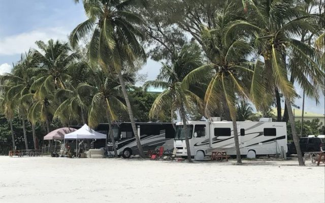 Red Coconut RV Resort Beach Campgrounds in Florida