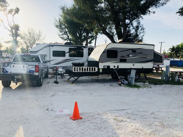 Red Coconut RV Resort Place for Camping in Florida