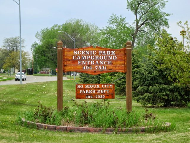 Scenic Park campground in Nebraska