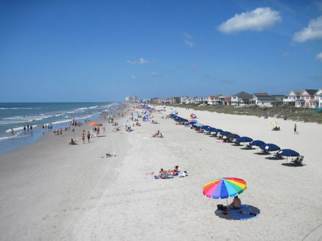Surfside Best Beach in South Carolina