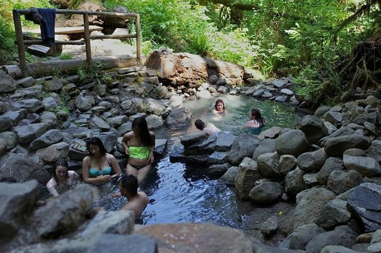 Terwilliger Hot Springs in Oregon