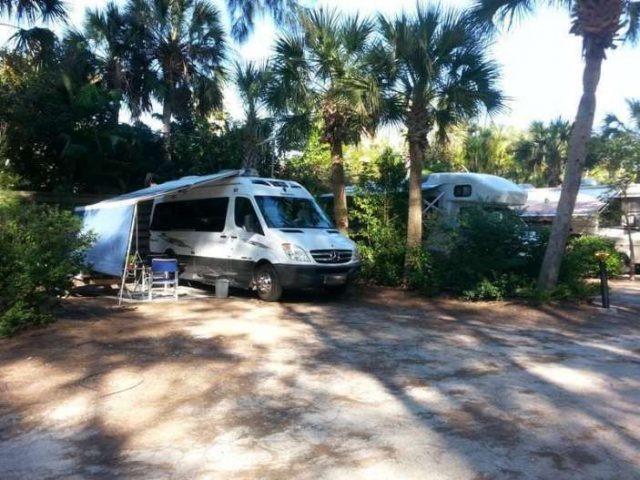 Turtle Beach Campground in Florida