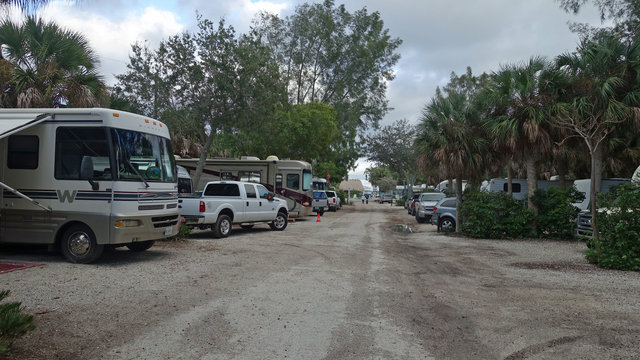 Turtle Beach RV Campgrounds in Florida