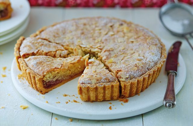 Bakewell Tart Layered British Dessert