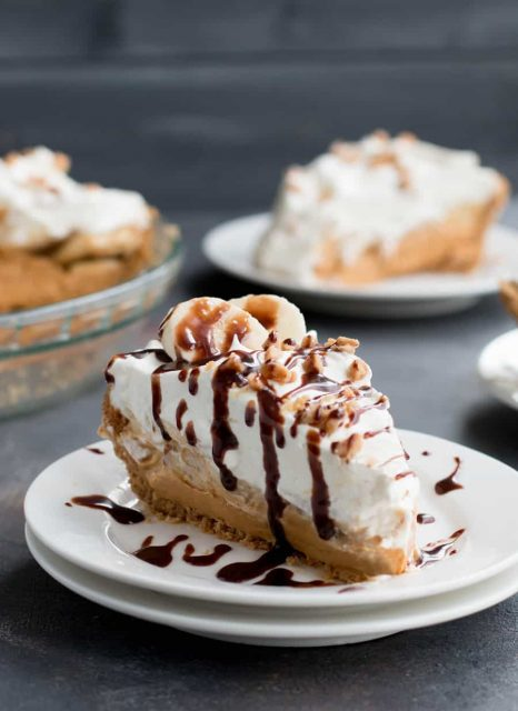 Banoffee English Dessert Pie